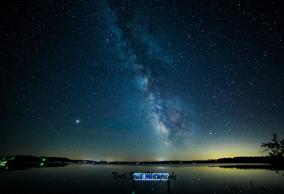 Milky Way over North Sand